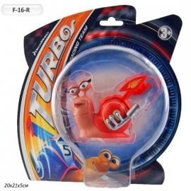 """Іграшка набір фігурок """"Граємо разом"""" F-16-R Турбо Равлик, на планш.8,5 см NEW"""