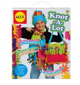Набор для рукоделия: теплый набор (шапка, шарф, сумка) ALEX (арт.: 384XL)