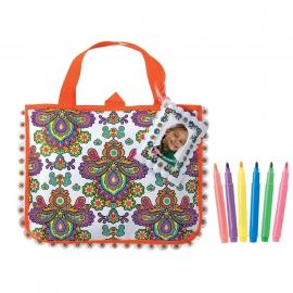 Большая сумка-раскраска ALEX Артикул: 505