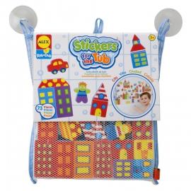 Набор стикеров для ванной Город ALEX арт.: 803W