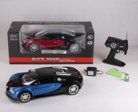 Іграшка машина на р/к 1:10 арт.2050 Bugatti Veyron, акум., у кор., 2 кольори