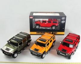 Іграшка машина на р/к 1:10 арт.2056A Hummer, у кор., 3 кольори