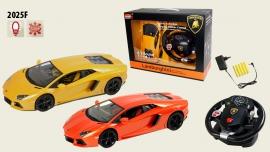 Іграшка машина на р/к 1:14  арт.2025F Lamborghini Aventador, з рулем  у кор. 31,5*15,5*8,5см