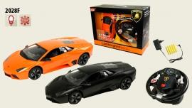 Іграшка машина на р/к 1:14  арт.2028F Lamborghini Reventon, з рулем у кор. 31,5*15,7*8,8см