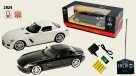 Іграшка машина на р/к 1:14 арт. 2024 Mercedes-Benz SLS, акум., у кор. 34*15*9см, 3 кольори
