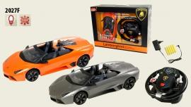 Іграшка машина на р/к 1:14 арт. 2027F Lamborghini Reventon, з рулем у кор. 31,5*15,7*8,8см