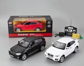 Іграшка машина на р/к 1:14 арт.2016 BMW X6, акум.,у кор., 3 кольори