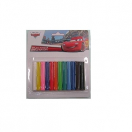 Іграшка набір для творч. MCQ-006-T Тачки восковий пластил.,12 кольорів на планш.