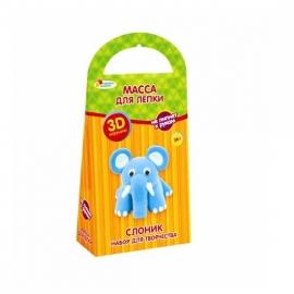 """Іграшка набір для творч.""""Граємо разом"""" SD0121 фігурка Слоненя"""