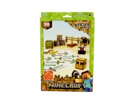 """Іграшка конструктор ТМ """"MINECRAFT""""  врт.16702 """"Набір предметів - картон"""", коробка 2,5*18*28"""