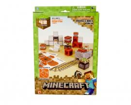 "Іграшка конструктор ТМ ""MINECRAFT"" арт.16713 PAPERCRAFT- Minecart ""Великий набір предметів - картон"""