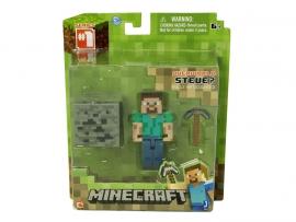 """Іграшковий набір.Фігурка з аксесуарами ТМ """"MINECRAFT"""" арт.16501 """"Steve"""", планшетка 5*15*18 см"""