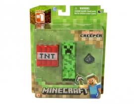 """Іграшковий набір.Фігурка з аксесуарами ТМ """"MINECRAFT"""" арт.16503 """"Creeper"""", планшетка 5*15*18 см"""