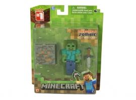 """Іграшковий набір.Фігурка з аксесуарами ТМ """"MINECRAFT"""" арт.16509 """"Zombie"""", планшетка 5*15*18 см"""
