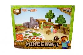 """Іграшка конструктор з фігурками ТМ """"MINECRAFT"""" арт.16721  """"Набір делюкс - картон"""", коробка 7*38*30"""