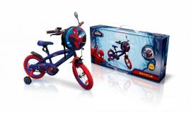 """Велосипед 2-х колес 14"""" SP1401 Marvel Spider Man. із дзвоником,дзеркалом"""