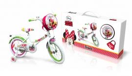 """Велосипед 2-х колес 16"""" M1601 Disney Minnie Mouse. із дзвоником,дзеркалом"""