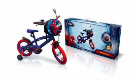 """Велосипед 2-х колес 16"""" SP1601 Marvel Spider Man. із дзвоником,дзеркалом"""
