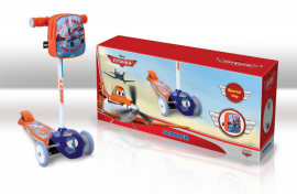 Самокат SD0111 Disney Planes.залізо,3 колеса PVC,амортизатор