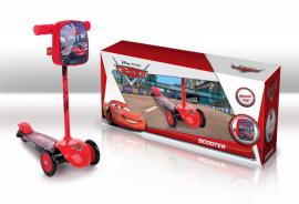 Самокат SD0112 Disney Сars.залізо,3 колеса PVC,амортизатор