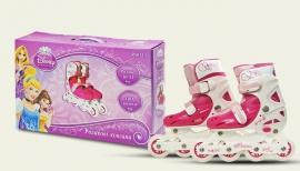 Ролики RS0115 р.30-33,Disney Princess.пласт.рама,кліпса,колеса PVC