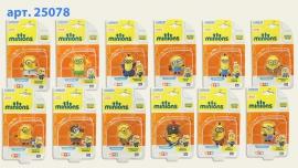 Фігурки Minions в ассортименте Арт.: 25078 (12 видов)