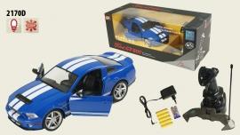 Іграшка машина на р/к 1:14 арт 2170D Ford Mustang вiдкр дверi, у кор.
