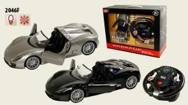 Іграшка машина на р/к 1:14 арт.2046F Porsche 918, з рулем у кор.