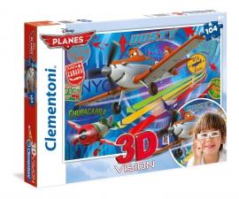 """Іграшка пазли ТМ """"Clementoni"""" арт.20082 Летачки 104 ел.3D"""