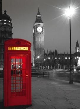 "Іграшка пазли ТМ ""Clementoni"" арт.30263 Лондон.Телефонная будка 500 эл."