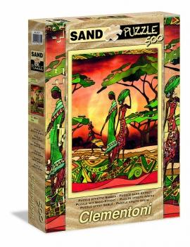 "Іграшка пазли ТМ ""Clementoni"" арт.30331 Family 500 эл. Эффект песка"