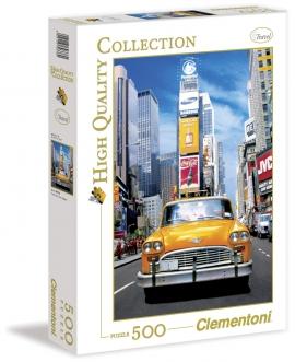 """Іграшка пазли ТМ """"Clementoni"""" арт.30338 Такси на Таймс Сквер 500 эл."""