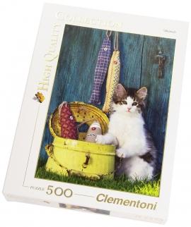 """Іграшка пазли ТМ """"Clementoni"""" арт.30345 Котенок 500 эл."""