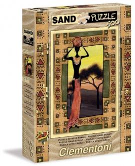"""Іграшка пазли ТМ """"Clementoni"""" арт.30353 Женщина Etnical 500 эл. Эффект песка"""