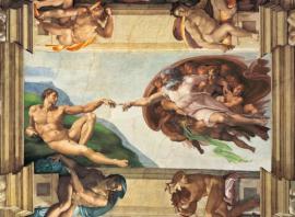 "Іграшка пазли ТМ ""Clementoni"" арт.31402 Микеланджело Сотворение Адама1000 эл."