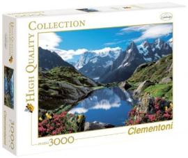 """Іграшка пазли ТМ """"Clementoni"""" арт.33538 Франция.Шамони 3000 эл."""