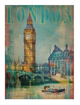 """Іграшка пазли ТМ """"Clementoni"""" арт.37035 Лондон 500 эл."""