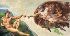 "Іграшка пазли ТМ ""Clementoni"" арт.38004 Микеланджело Сотворение Адама 13200 эл."