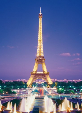 "Іграшка пазли ТМ ""Clementoni"" арт.39122 Париж.Эйфелева башня 1000 эл."