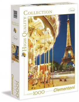 "Іграшка пазли ТМ ""Clementoni"" арт.39228 Париж.Карусель 1000 эл."