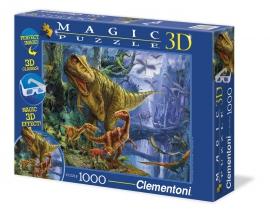 "Іграшка пазли ТМ ""Clementoni"" арт.39261 Долина Динозавров 1000 эл.3D"