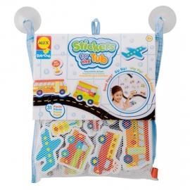 Набор стикеров для ванной Транспорт ALEX арт.: 804W