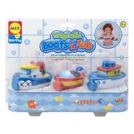 Набор лодок на магнитах для ванной ALEX арт.: 823W