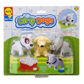 Набор для ванной Грязные щенки ALEX артикул: 825DN