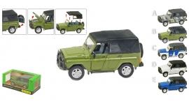 Іграшка машина метал. Артикул: UAZ-469B