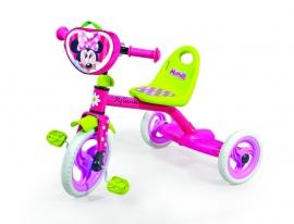 Велосипед 3-х колес 0205M Disney Minnie Mouse (1шт),сумка, пластик.колеса