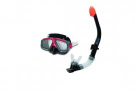 Набір для плавання INTEX арт.  55949   маска  трубка  гіпоалергенний чорний