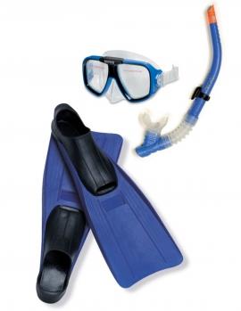 """Набір для плавання INTEX арт.  55957  """"Спорт"""" маска  трубка  ласти"""