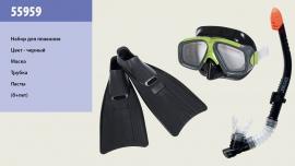 Набір для плавання INTEX арт.  55959   маска трубка ласти