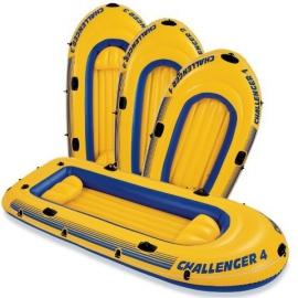 """Човен INTEX арт.   68369 """"Challenger""""  рефлене дно кріплення для весел"""